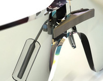 Tag Heuer Glasses 3D render