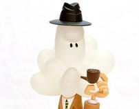 Inspector Cumulus - vinyl toy 2011