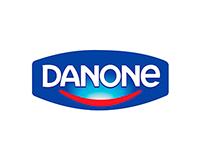 Web para le gabinete de prensa de Danone
