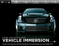 Cadillac OnStar Vehicle Immersion iPad App