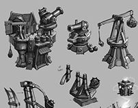 Tower designs (Concept art)