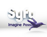 "SyFy Network Identity: ""Imagine Possible"""
