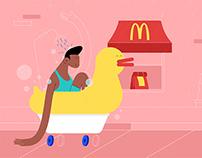 Le Cube - McDonald's - Drive-Thru Free Car Day