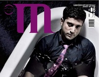 Farhan Akhtar For M magazine Aug 2011