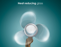 Saint Gobain - Heat reducing glass
