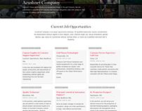 Acushnet - Employment Website
