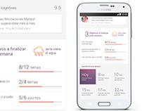 Tracker mobile app *(2016)