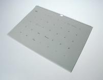 Transparent calendar