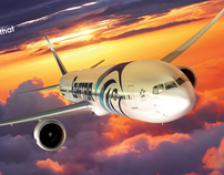 Egypt air - The new boeing 777