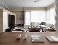 Alex's home in Taiwan by HOZO interior design