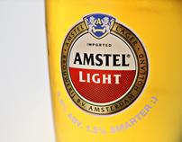 Amstel Light - 3.5% ABV. 1.5% Smarter