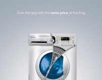 ideal - 6kg washing machine