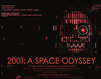 Iconic Moments Poster (2001: A Space Odyssey)