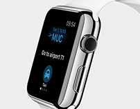 Helsinki Airport Apple Watch App