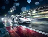 New Porsche RSR for Le Mans Race