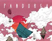 Cartaz para o filme Pandorga de Maurício Pinto