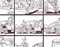 My storyboards