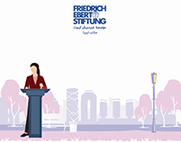 Friedrich Ebert Stifung - Motion Graphic