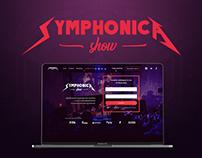 Symphonica Show. Landing Page