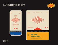 Enthusiast — website concept