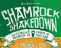 Shamrock Shakedown 2017 Poster