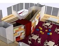 Kindergarten concept - Interior Design Thesis 2008