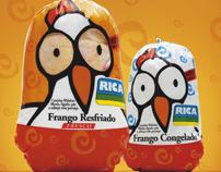 Frangos Rica - Comunicação Visual