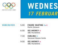Olympic Schedule