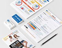 United Way Stationery and Marketing Collateral