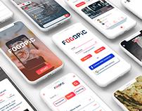 """FOODPIC"" - App Concept"