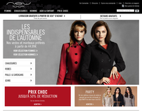 NewLook.com/fr - French language site for New Look