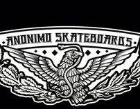 Anonimo Skateboards 1st Model