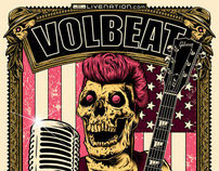 "Volbeat  ""2011 North America Summer Tour Poster Contest"