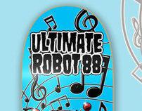 Ultimate Robot 88 Skateboards
