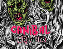 "RED LINE SKATES  ""CANIBAL Pro Model"""