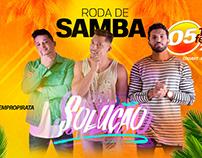 CAMPANHA RODA DE SAMBA DO PIRATA BAR