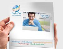 Code & Dot portfolio brochure