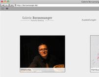 Web Design - Art Gallery