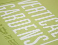Vertical Gardens Poster & Book