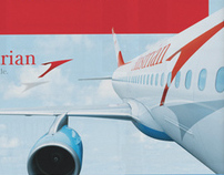 AUSTRIAN AIRLINE RED KAMPAGNE