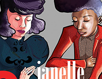 Janelle Monae & Kimbra Poster