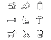 Pictograms for sale