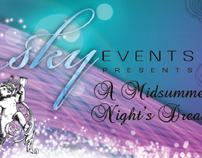 Sky Events Flyer