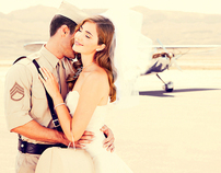 Airplane Bridal Story