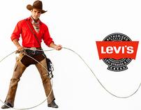 Levi's Cowboy Campaign