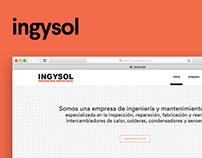 Desarrollo de Sitio Web — Ingysol