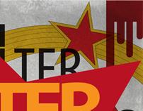 """Walter Defends Sarajevo"" - Poster Design"