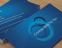 Connections For You // Logo Design & Business Cards