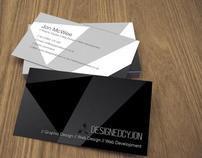 designedbyjon.co.uk // Business Card Design