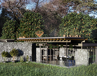 Rural bungalow in Mexico